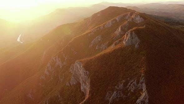 Aerial Mountain Range 3