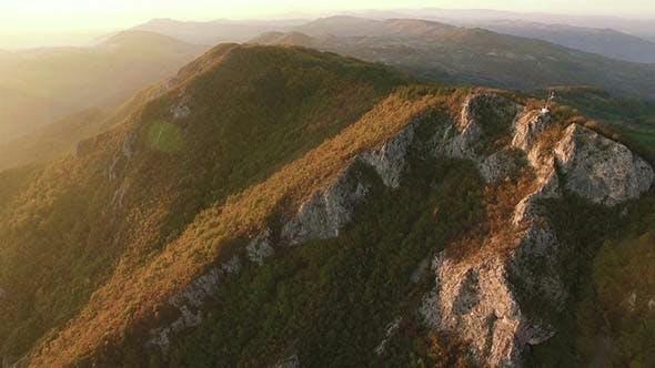 Aerial Mountain Range 4