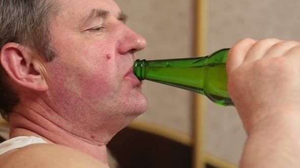 Thumbnail for Lazy Man Drinking Beer