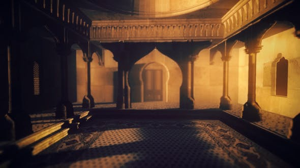 Thumbnail for 3D Mosque – Inside