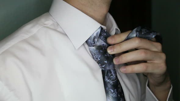 Thumbnail for Groom Considers Tie