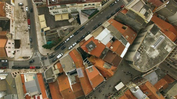 Thumbnail for Aerial View of Roof Houses