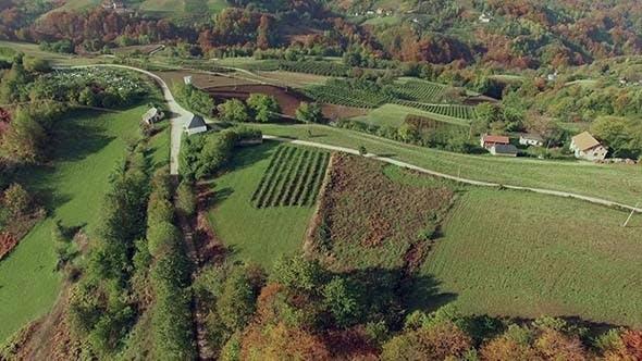 Thumbnail for Aerial Mountain Village