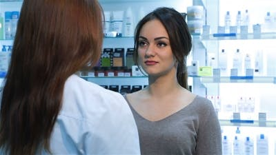 Pharmacist Selling Pills