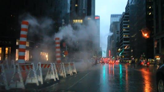 Thumbnail for Rain Smoke NYC HD