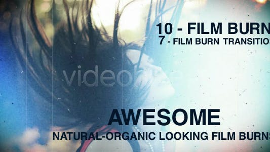 Thumbnail for Film burns pack
