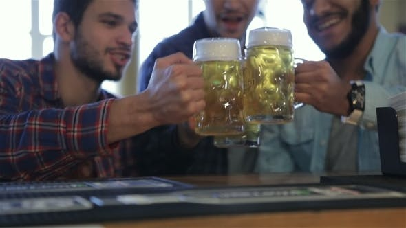 Thumbnail for Three Men With Beer Rejoice The Victory