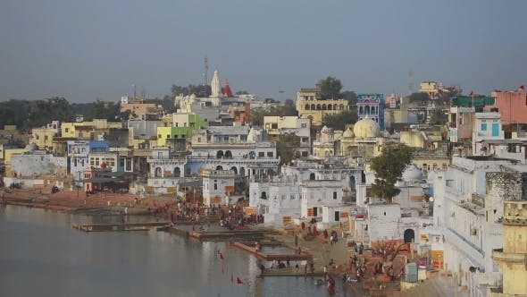 Pushkar Lake, Ritual Washing