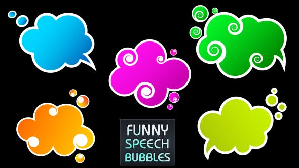 Thumbnail for Colorful Speech Bubbles