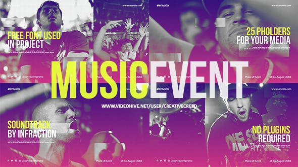 Thumbnail for Music Event Promo / Party Invitation / EDM Festival / Night Club