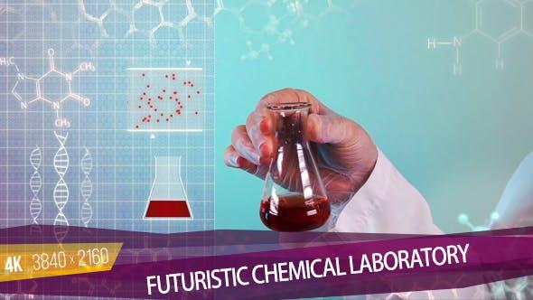 Thumbnail for Futuristic Chemical Laboratory
