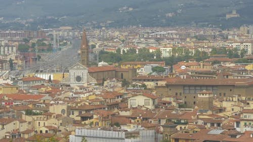 Pan right of Florence