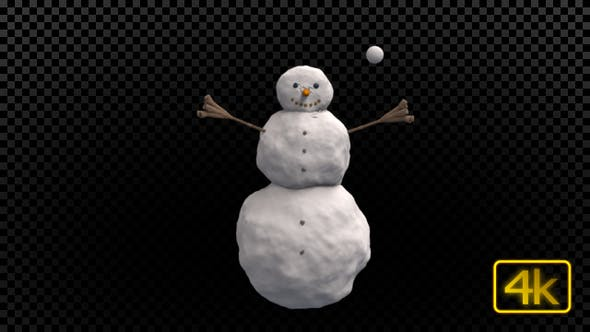 Thumbnail for Snowman And Snowball
