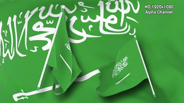 Thumbnail for Flag Transition - Saudi Arabia