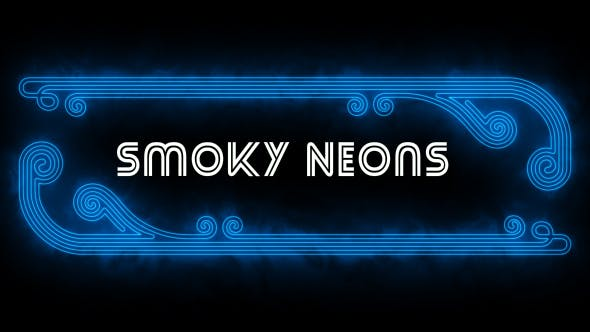 Thumbnail for New Style Smoky Neon Shapes