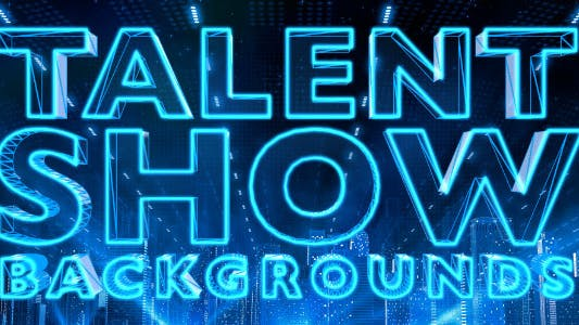 Thumbnail for Talent Show Backgrounds