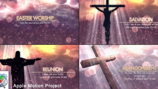 Thumbnail for Easter Worship Promo - Apple Motion