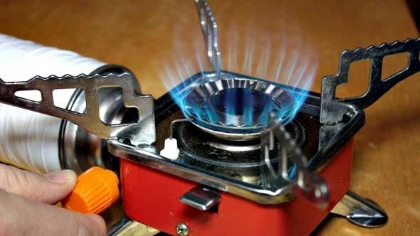 Cover Image for Small Gas Stove