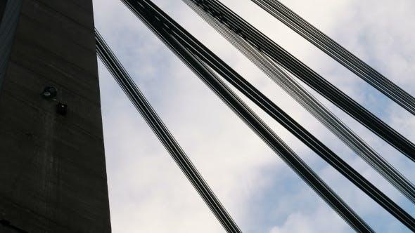 Thumbnail for Iron Ropes On Bridge