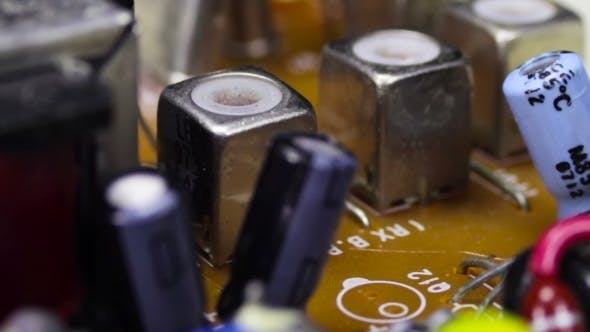 Cover Image for Circuit Boards With Electronic Components