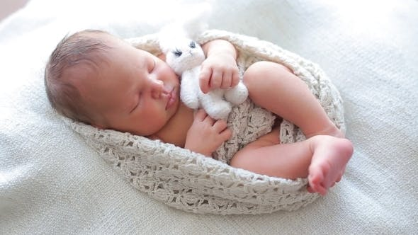 Thumbnail for Cute Baby Sleeping