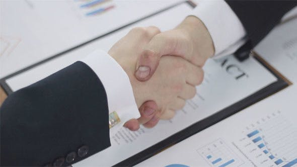 Thumbnail for Business Handshake to Sign a Contract