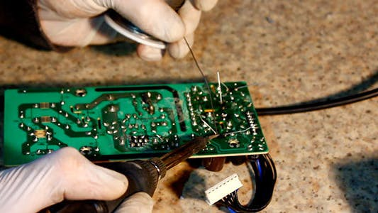 Thumbnail for Soldering Microchips And Circuit Boards