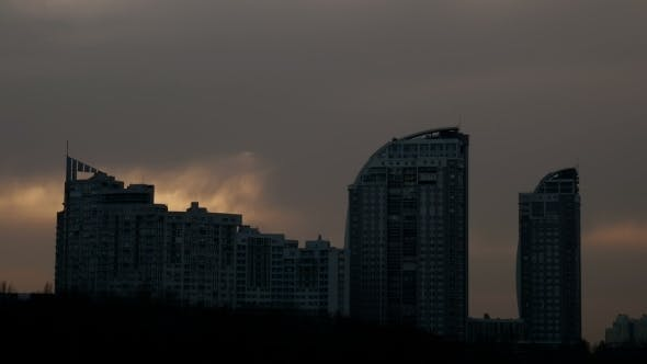 Thumbnail for City Landscape At Evening
