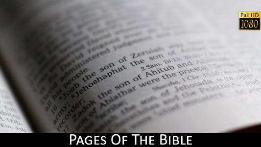 Thumbnail for Pages Of The Bible 15