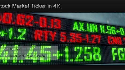 Stock Exchange Ticker