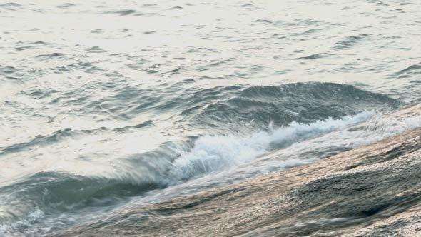 Thumbnail for Sea Waves Splashing