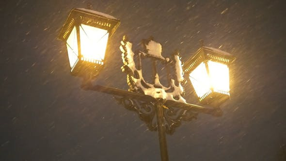 Cover Image for Snowfall In Night