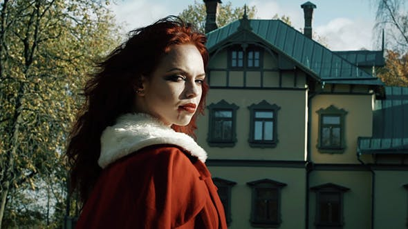 Thumbnail for Gothic Girl Portrait