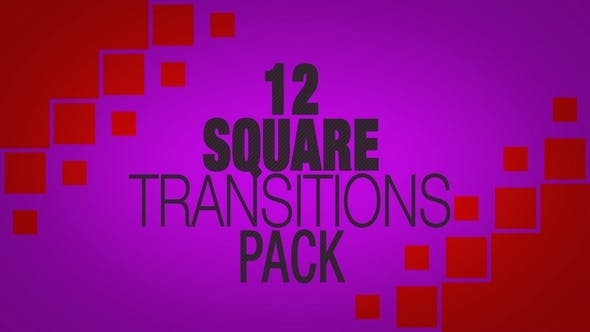 Thumbnail for Square Transitions Pack