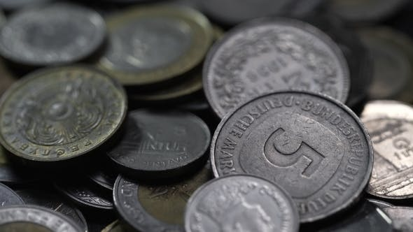 Thumbnail for Nickel And Copper Coins Of Different Countries Of The World