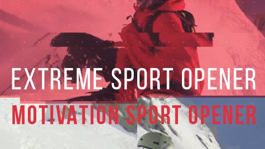 Thumbnail for Extreme Sport Abrir - Motivation Sport Promo