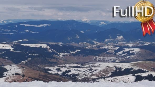 Thumbnail for Beautiful Winter Mountains Landscape Panorama