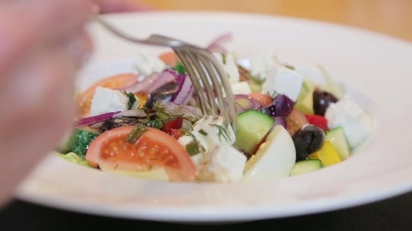 Salad With a Fork