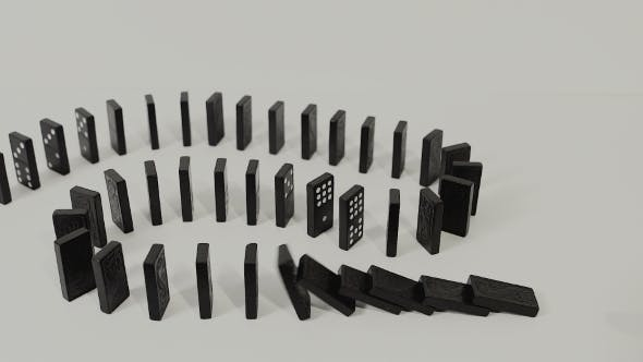 Thumbnail for Finger Toppling Dominoes