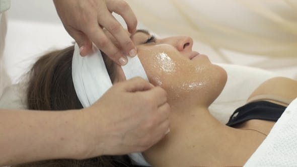 Thumbnail for Cosmetologist Make Epilation Of Girl Face In Beauty Saloon