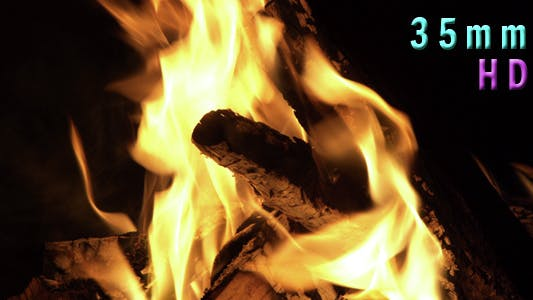 Thumbnail for Fire Pit Burning In The Night 12