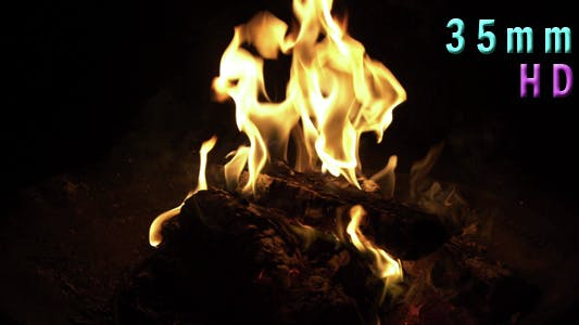 Thumbnail for Fire Burning In Outdoor Pit 13