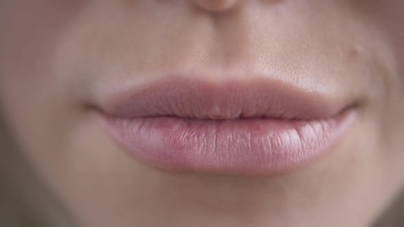 Thumbnail for Extreme  Of Woman's Sexy Lips With Botox