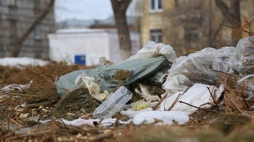 Dirty City, Piles of Garbage