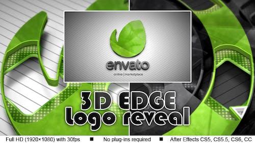 3D Edge Logo Reveal