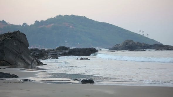 Thumbnail for Photographer Enjoys Early Morning Seascape