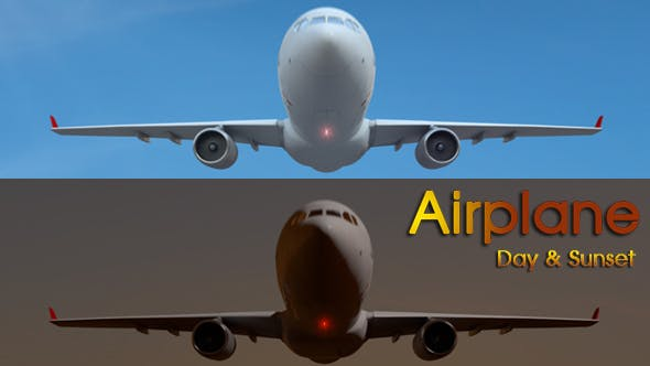 Thumbnail for Airplane Day & Sunset