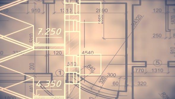 Architectural Blueprint Background