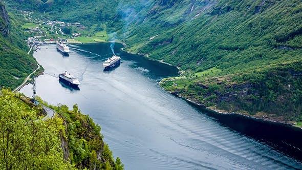 Thumbnail for Geiranger Fjord Norway