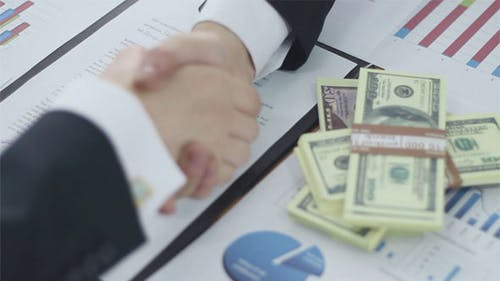 Business Financing Handshake